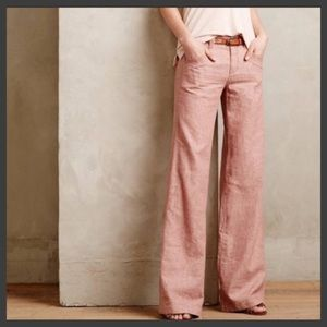 🆕🦋Anthro Daughters of the Liberation linen pants